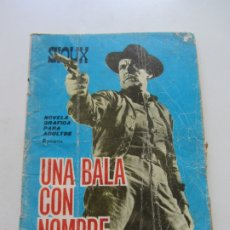 Tebeos: Y SIOUX Nº 39 UNA BALA CON NOMBRE - SALVADOR DULCET Y A. FONT (TORA1965). TIPPI HEDREN CX23. Lote 180218433