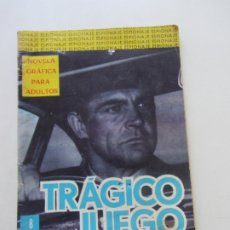 BDs: COLECCION ESPIONAJE - Nº 28 TRAGICO JUEGO - TORAY - 1966 -CX23. Lote 180218772