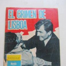 Tebeos: ESPIONAJE Nº 10: EL CRIMEN DE LISBOA- TORAY - 1966 -CX23. Lote 180218936
