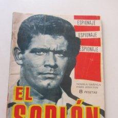 Tebeos: ESPIONAJE Nº 22 EL SOPLÓN TORAY - 1966 -CX23. Lote 180219025