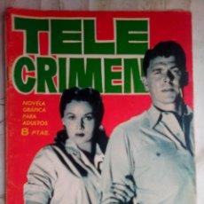 Tebeos: ESPIONAJE - Nº 7 -TELE CRIMEN- GRAN ANTONIO BORRELL-1965-SORPRENDENTE- BUENO- ESCASO-LEAN-2207. Lote 180265285
