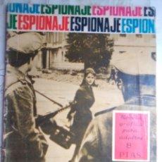 Tebeos: ESPIONAJE - Nº 47 -REGALO PARA UN ESPÍA- GRAN ANTONIO BORRELL-1967-BUENO- MUY DIFÍCIL-LEAN-2209. Lote 180267815