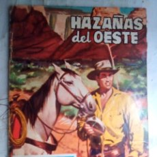 Tebeos: HAZAÑAS DEL OESTE- Nº 22 -1962-FRANCISCO CUETO-J.F. LOMBARDÍA-MUY DIFÍCIL-BUENO-LEAN-2214. Lote 180275890