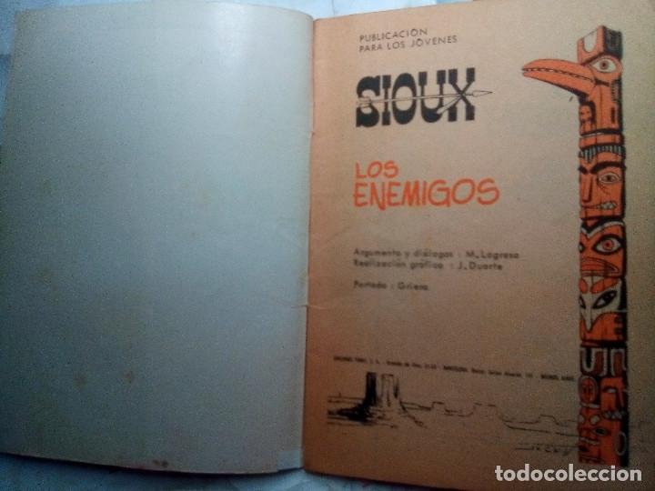 Tebeos: SIOUX - Nº 100 -LOS ENEMIGOS - 1968- GRAN JOSÉ DUARTE- BUENO- MUY DIFÍCIL-ESCASO DE VER-LEAN- 2217 - Foto 5 - 180287005