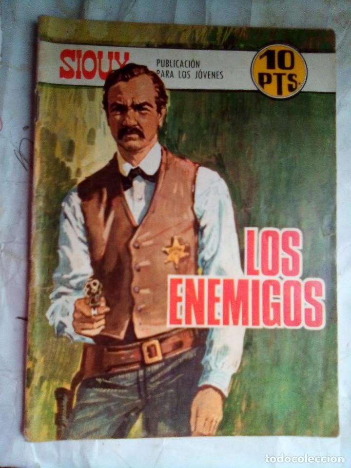 SIOUX - Nº 100 -LOS ENEMIGOS - 1968- GRAN JOSÉ DUARTE- BUENO- MUY DIFÍCIL-ESCASO DE VER-LEAN- 2217 (Tebeos y Comics - Toray - Sioux)