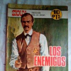 Tebeos: SIOUX - Nº 100 -LOS ENEMIGOS - 1968- GRAN JOSÉ DUARTE- BUENO- MUY DIFÍCIL-ESCASO DE VER-LEAN- 2217. Lote 180287005
