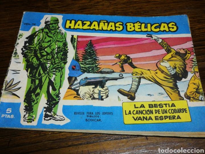 HAZAÑAS BÉLICAS- N° 74, TORAY 1958. (Tebeos y Comics - Toray - Hazañas Bélicas)