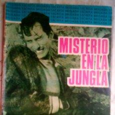 Tebeos: BRIGADA SECRETA - Nº 164 -MISTERIO EN LA JUNGLA-GRAN JOSÉ GUAL-1966-BUENO-DIFÍCIL-LEAN-2226. Lote 180512125