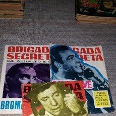Tebeos: LOTE DE 3 NUMEROS DE BRIGADA SECRETA - TORAY 1966- Nº 170- 172- 174. Lote 180911290