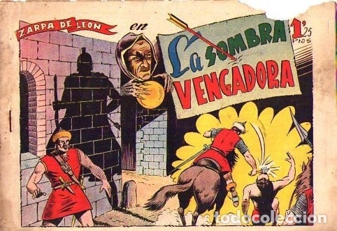 ZARPA DE LEON (TORAY) Nº 9 VER PORTADA (Tebeos y Comics - Toray - Zarpa de León)