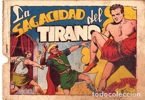 ZARPA DE LEON (TORAY) Nº 53 VER PORTADA (Tebeos y Comics - Toray - Zarpa de León)