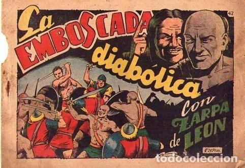 ZARPA DE LEON (TORAY) Nº 42 VER PORTADA (Tebeos y Comics - Toray - Zarpa de León)