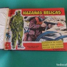 Tebeos: TOMO CON 20 NUMEROS DE HAZAÑAS BELICAS SERIE ROJA. Lote 180944465