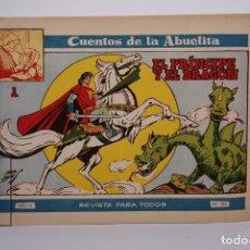 Tebeos: ANTIGUO CÓMIC / TEBEO - CUENTOS DE LA ABUELITA - Nº 246 EL PRÍNCIPE Y EL DRAGÓN - EDICIONES TORAY. Lote 181030352