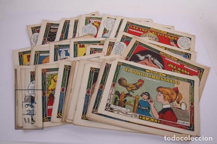 CONJUNTO DE 49 CÓMICS / TEBEOS - GRACIELA - EDICIONES TORAY (Tebeos y Comics - Toray - Graciela)
