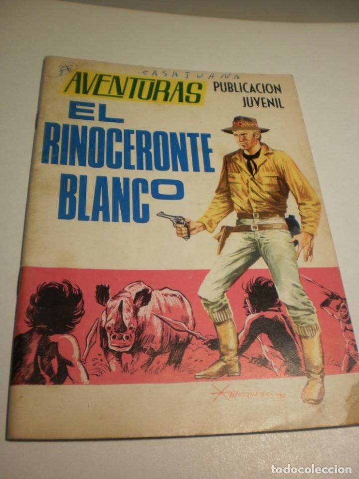 AVENTURAS EL RINOCERONTE BLANCO. 1968 (ESTADO NORMAL, LEER) (Tebeos y Comics - Toray - Otros)