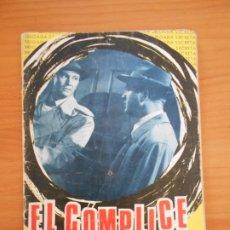 Tebeos: BRIGADA SECRETA Nº 141 - EL COMPLICE (6T). Lote 181339900