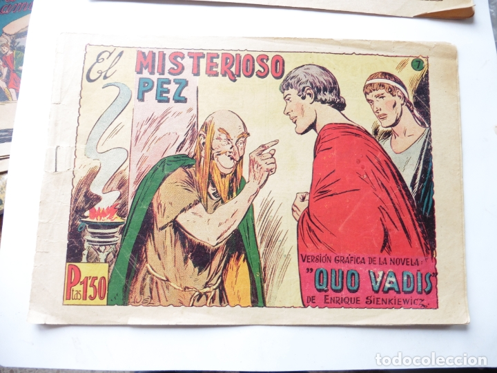 QUO VADIS Nº 7 TORAY DIBUJANTE JUEZ ORIGINAL (Tebeos y Comics - Toray - Otros)