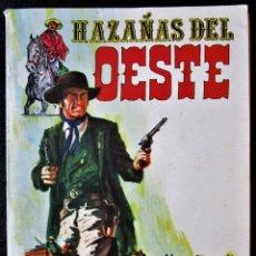 Tebeos: HAZAÑAS DEL OESTE - NºS DEL 1 AL 4 - RETAPADO - EDICIONES TORAY 1987 (VER 4 FOTOS). Lote 181517220