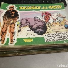 Tebeos: HAZAÑAS DEL OESTE / LOTE CON 28 NÚMEROS / TORAY. Lote 181562942