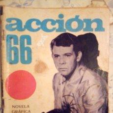 Tebeos: ESPIONAJE - Nº 33 -ACCIÓN 66- GRAN JOSÉ ANTONIO HUÉSCAR-1966-CORRECTO- ESCASO-MUY DIFÍCIL-LEAN-2310. Lote 182045112