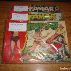 Tebeos: LOTE DE 63 COMICS TAMAR DE TORAY ORIGINALES LEER . Lote 182051645