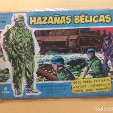 Tebeos: HAZAÑAS BÉLICAS Nº 183. Lote 182209133