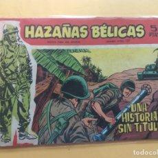 Tebeos: HAZAÑAS BÉLICAS Nº 127. Lote 182212201