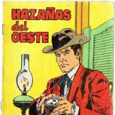 Tebeos: HAZAÑAS DEL OESTE Nº 109 AÑO 1966 . Lote 182306378
