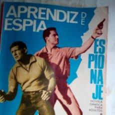 Tebeos: ESPIONAJE - Nº 52 -APRENDIZ DE ESPÍA- APASIONANTE-GRAN VICENTE FARRÉS-1967-BUENO- MUY DIFÍCIL-2320. Lote 182408908