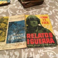 Tebeos: RELATOS DE GUERRA - Nº 17 - MORIR ES FÁCIL - EDICIONES TORAY . Lote 182505877