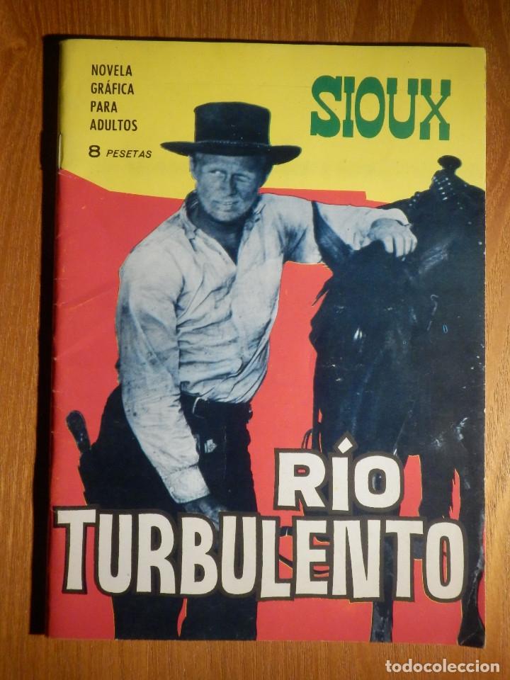 TEBEO - COMIC - NOVELA GRÁFICA - SIOUX - Nº 56 - RIO TURBULENTO - TORAY 1966 (Tebeos y Comics - Toray - Sioux)