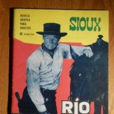 Tebeos: TEBEO - COMIC - NOVELA GRÁFICA - SIOUX - Nº 56 - RIO TURBULENTO - TORAY 1966. Lote 182647083