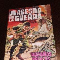 Tebeos: HAZAÑAS BÉLICAS. UN ASESINO EN LA GUERRA. TORAY. . Lote 182754510