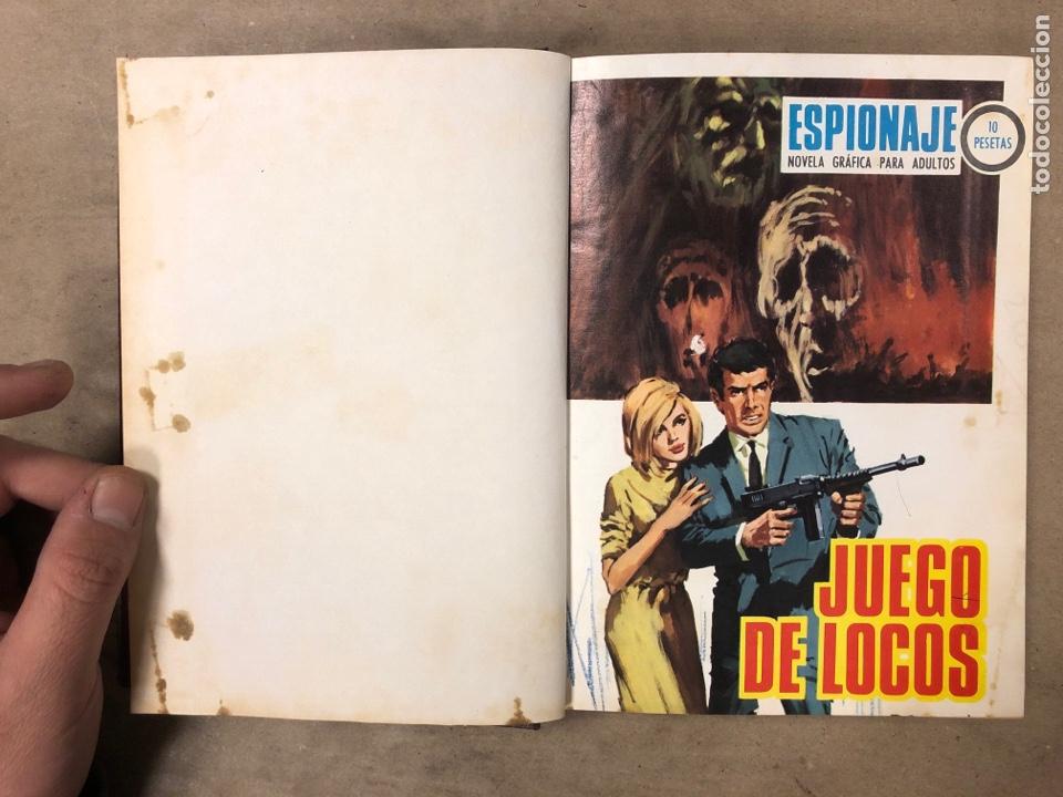 Tebeos: LOTE DE 7 NÚMEROS COLECCIÓN ESPIONAJE ENCUADERNADOS. EDICIONES TORAY 1966/67. - Foto 3 - 182780375