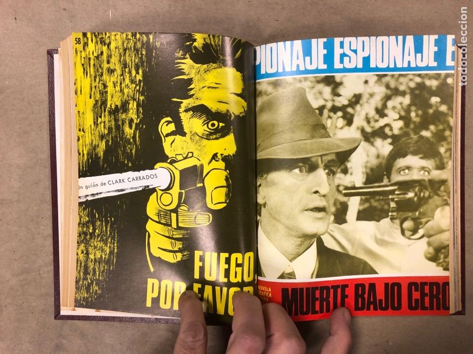 Tebeos: LOTE DE 7 NÚMEROS COLECCIÓN ESPIONAJE ENCUADERNADOS. EDICIONES TORAY 1966/67. - Foto 7 - 182780375