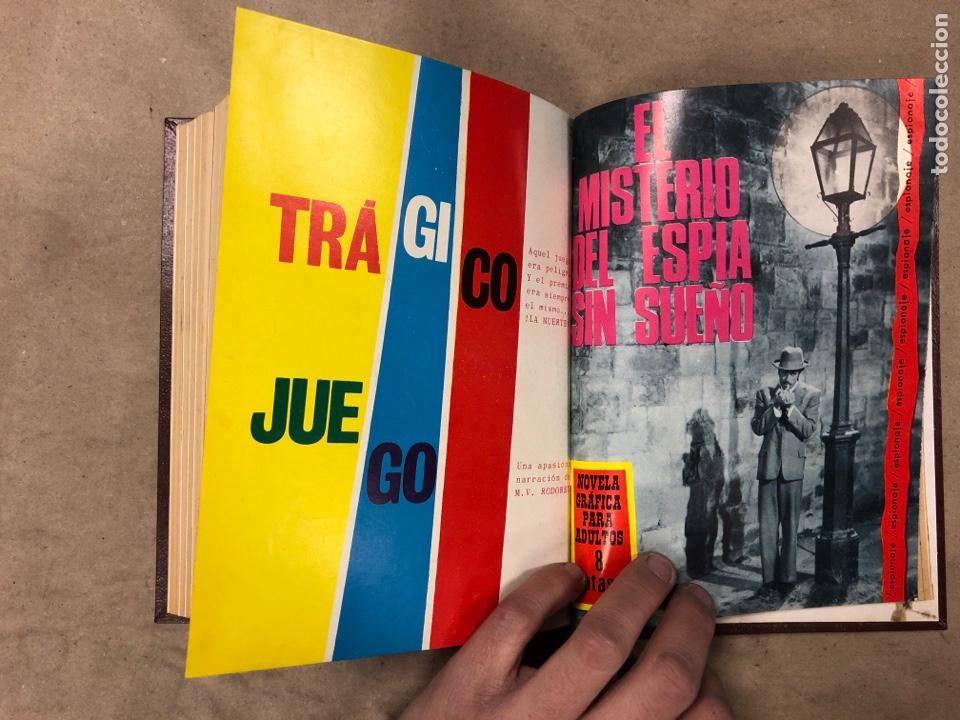 Tebeos: LOTE DE 7 NÚMEROS COLECCIÓN ESPIONAJE ENCUADERNADOS. EDICIONES TORAY 1966/67. - Foto 14 - 182780375