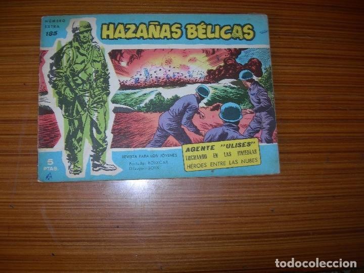 HAZAÑAS BELICAS AZULES Nº 185 EDITA TORAY (Tebeos y Comics - Toray - Hazañas Bélicas)