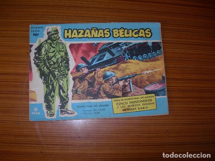 HAZAÑAS BELICAS AZULES Nº 191 EDITA TORAY (Tebeos y Comics - Toray - Hazañas Bélicas)