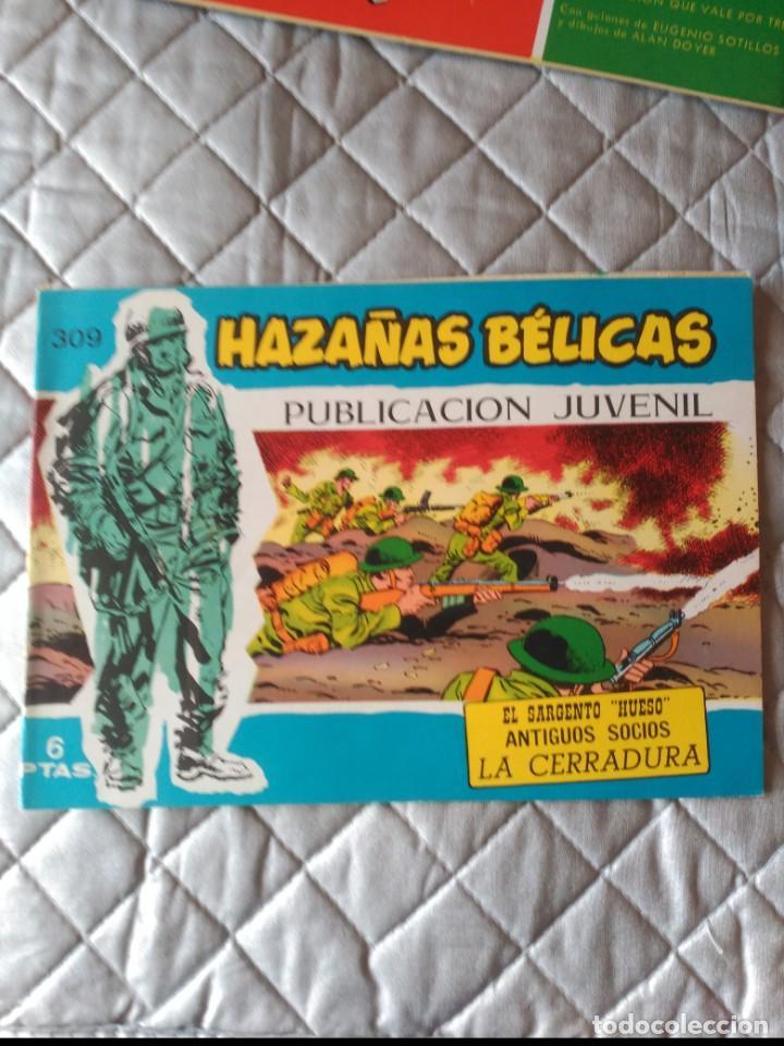 HAZAÑAS BÉLICAS EXTRA AZUL Nº 309 (Tebeos y Comics - Toray - Hazañas Bélicas)