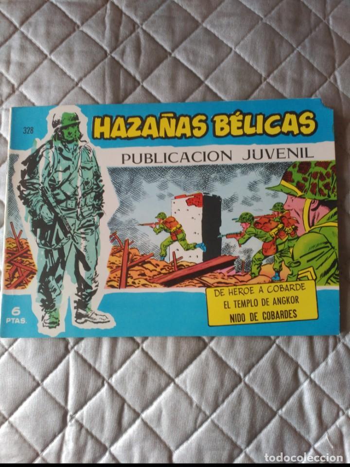 HAZAÑAS BÉLICAS EXTRA AZUL Nº 328 DIFÍCIL (Tebeos y Comics - Toray - Hazañas Bélicas)