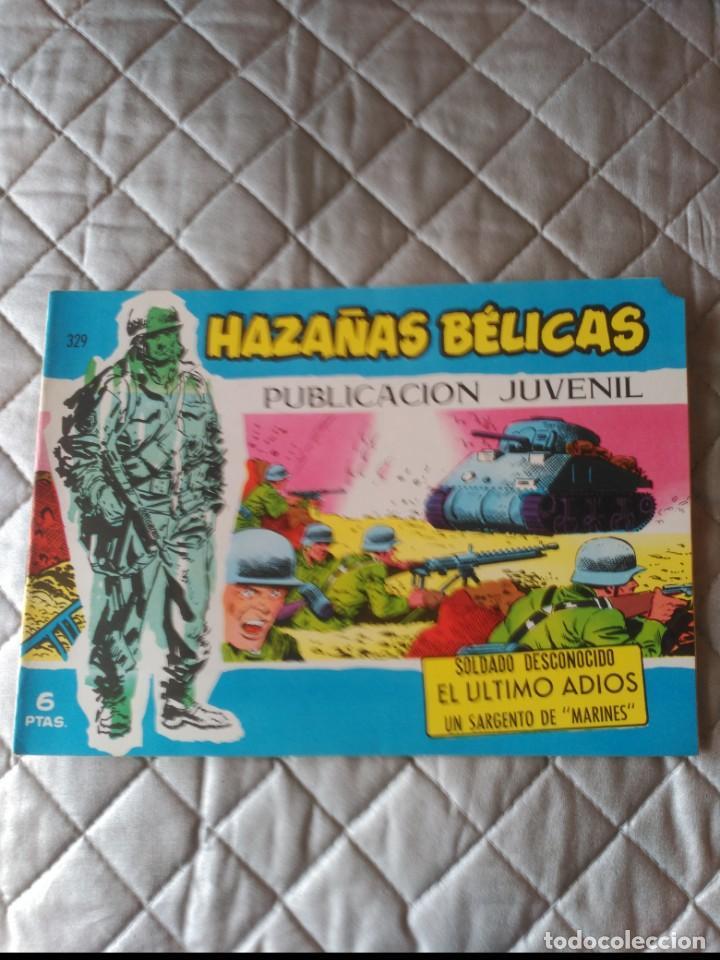 HAZAÑAS BÉLICAS EXTRA AZUL Nº 329 DIFÍCIL (Tebeos y Comics - Toray - Hazañas Bélicas)