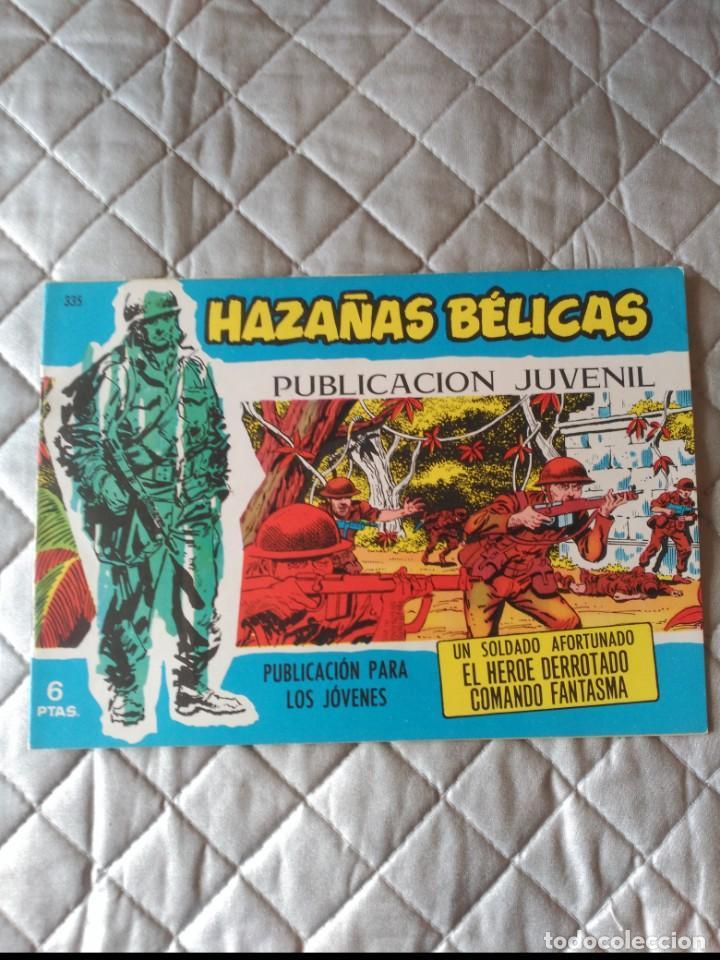 HAZAÑAS BÉLICAS EXTRA AZUL Nº 335 (Tebeos y Comics - Toray - Hazañas Bélicas)