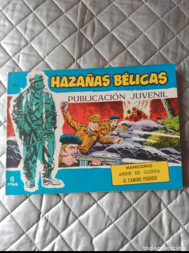HAZAÑAS BÉLICAS EXTRA AZUL Nº 346 (Tebeos y Comics - Toray - Hazañas Bélicas)