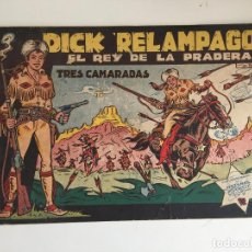 BDs: DICK RELAMPAGO - TRES CAMARADAS - TORAY, ORIGINAL - GCH. Lote 183663271