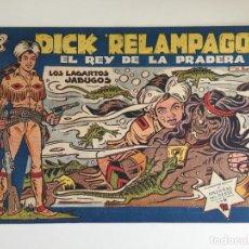 BDs: DICK RELAMPAGO - LOS LAGARTOS JABUGOS - TORAY, ORIGINAL - GCH. Lote 183664213