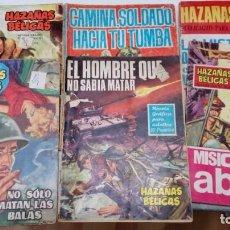 Tebeos: OFERTA - LOTE DE 6 Nº DE HAZAÑAS BELICAS - Nº 4, 92, 97, 158, 201 Y HB209 - EDICIONES TORAY AÑOS 60 . Lote 183762318