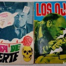Tebeos: OFERTA - LOTE DE 2 Nº DE LA COLECCION ESPIONAJE DE TORAY - Nº 5 Y 55 - EDICIONES TORAY AÑOS 60 . Lote 183762997
