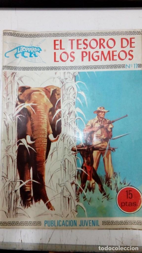 OFERTA - COLECCION LEOPARDO DE TORAY Nº 11 - EL TESORO DE LOS PIGMEOS - TORAY 1971 (Tebeos y Comics - Toray - Otros)