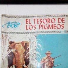 Tebeos: OFERTA - COLECCION LEOPARDO DE TORAY Nº 11 - EL TESORO DE LOS PIGMEOS - TORAY 1971. Lote 183763426